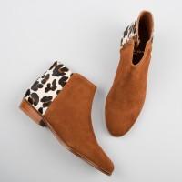 Flat Boots : La Sauvageonne - Fauve & Jaguar