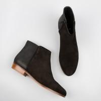 Flat Boots : La Sauvageonne - Black Ébène