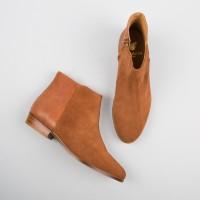 Flat Boots : La Sauvageonne - Fauve