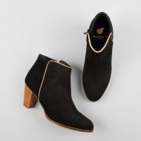 Boots à talons : La Muse - Noir