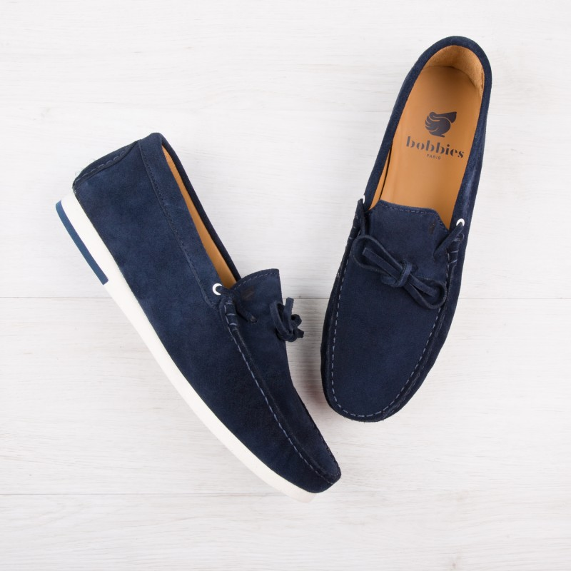 Mocassins Sneakers : Le Plagiste - Bleu Marine