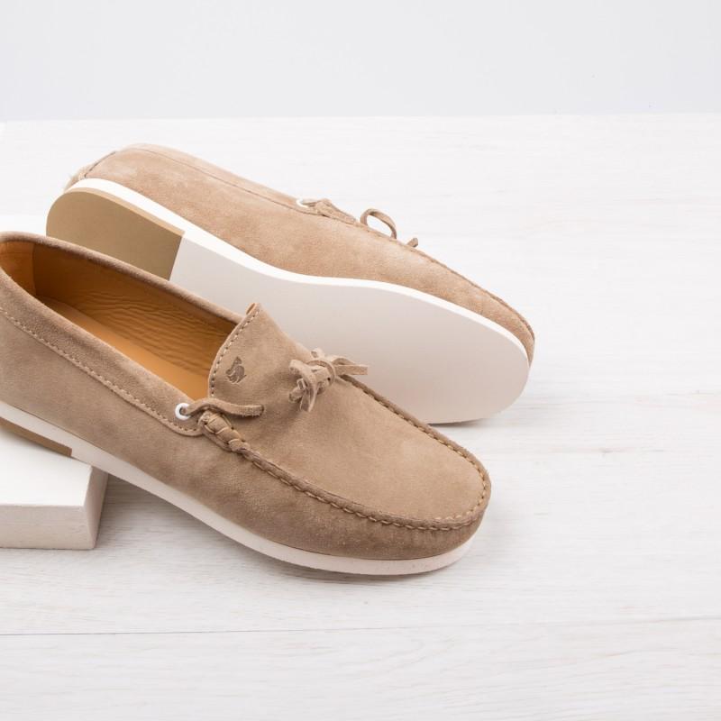 Mocassins Sneakers : Le Plagiste - Gris Taupe
