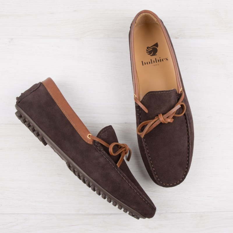 Mocassins : Le Tombeur - Marron Chocolat