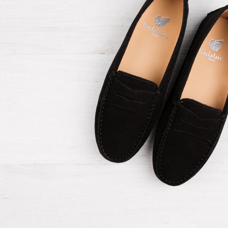 Driving Loafers : La Parisienne - Black