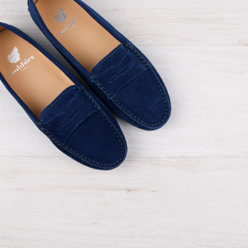 Driving Loafers : La Parisienne - Night Blue