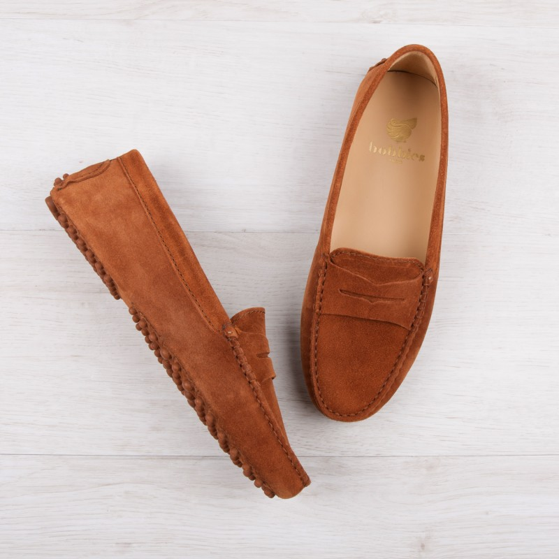 Driving Loafers : La Parisienne - Tawny