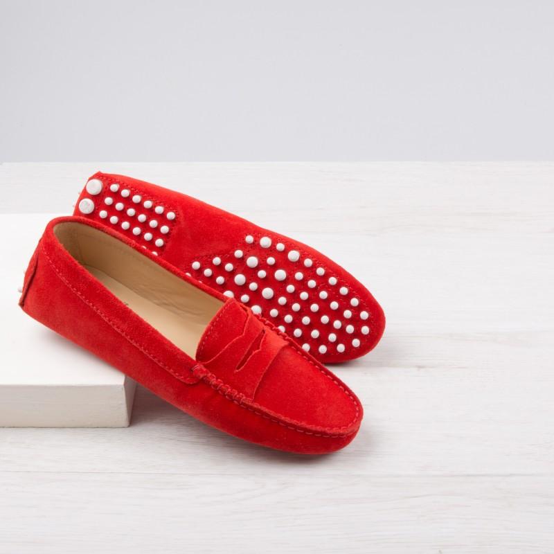 Driving Loafers : La Parisienne - Bobbies Orange
