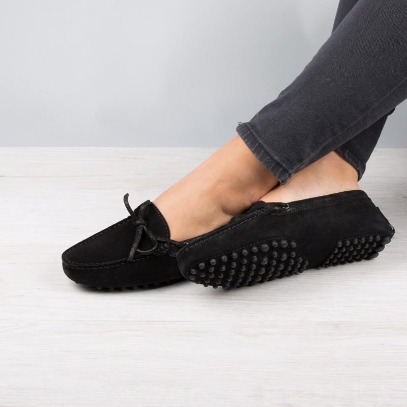 Driving Loafers : La Craquante - Black