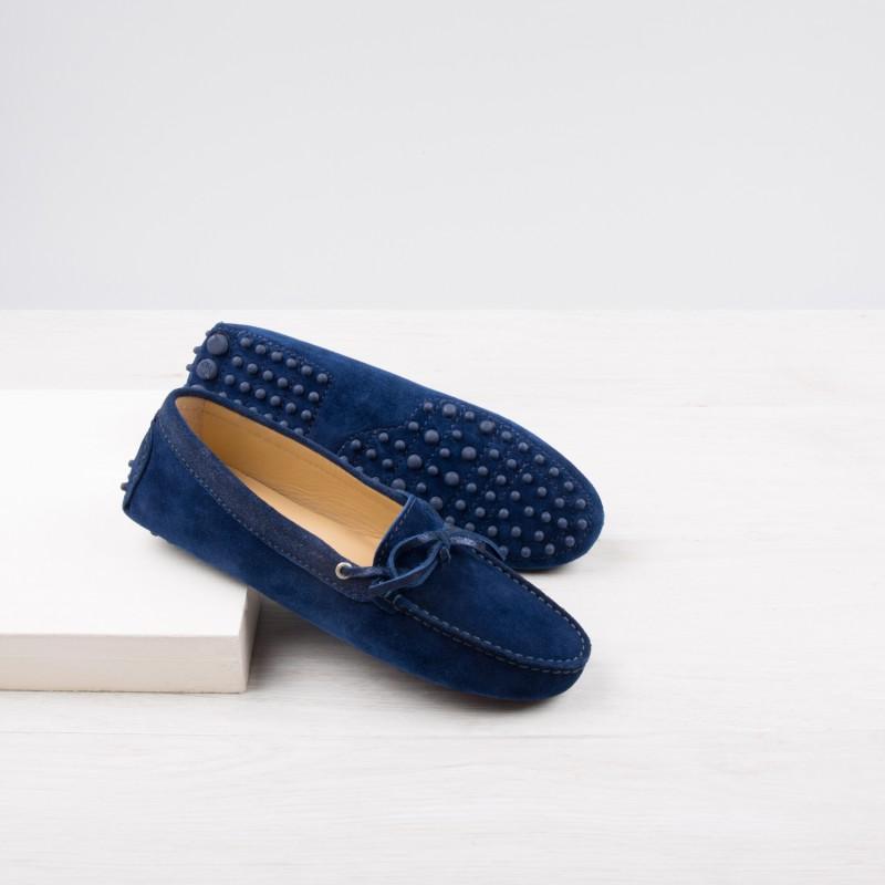 Driving Loafers : La Craquante - Night Blue