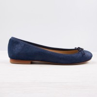 Ballerines : La Princesse - Bleu Royal