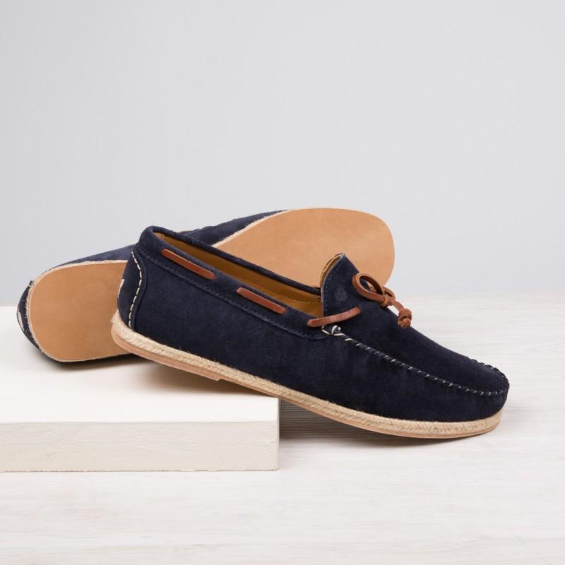 Driving Loafers : Le Vacancier - Bleu Marine