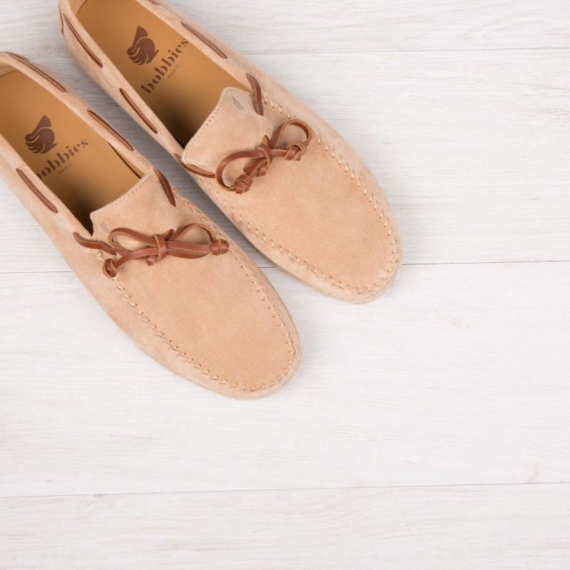 Driving Loafers : Le Vacancier - Sable