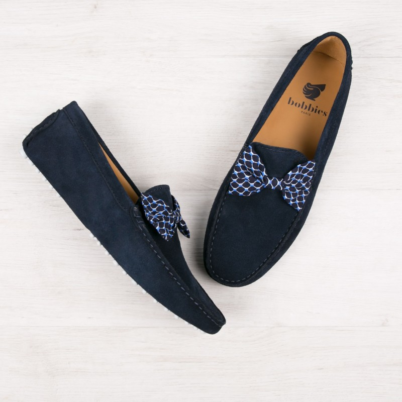 Driving Loafers : Le Charmeur - Bleu Marine