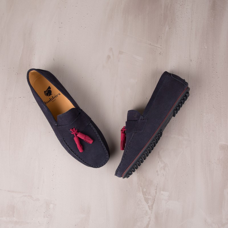 Driving Loafers : Le Gentleman - Navy Blue