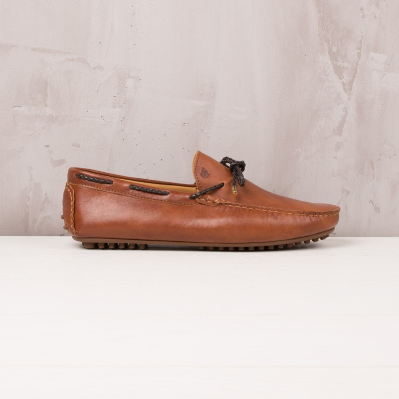 Driving Loafers : L'Orfèvre - Cognac