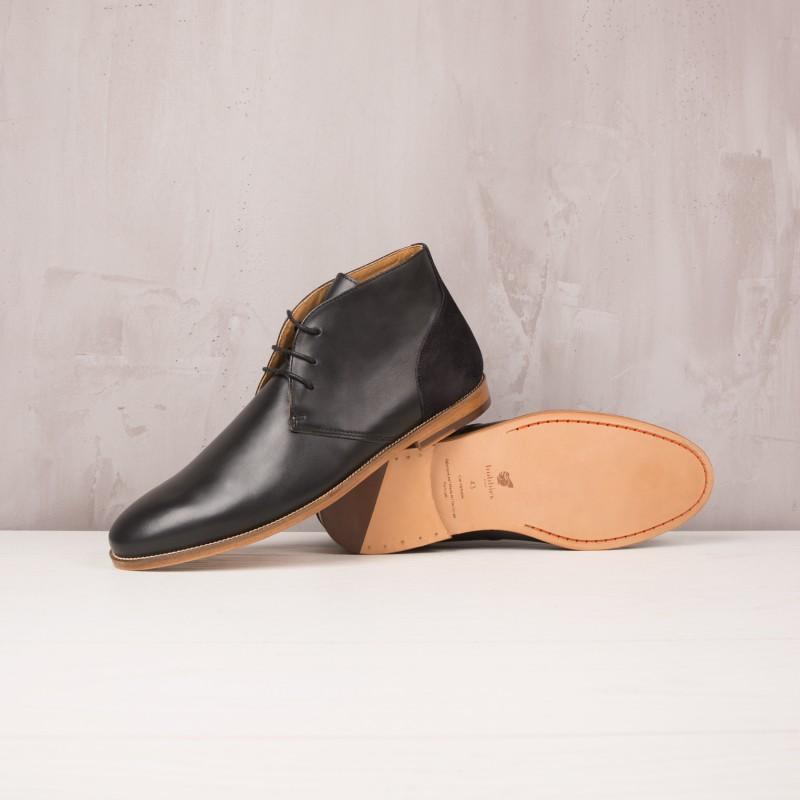 Boots & Bottines : L'Architecte - Noir Ébène
