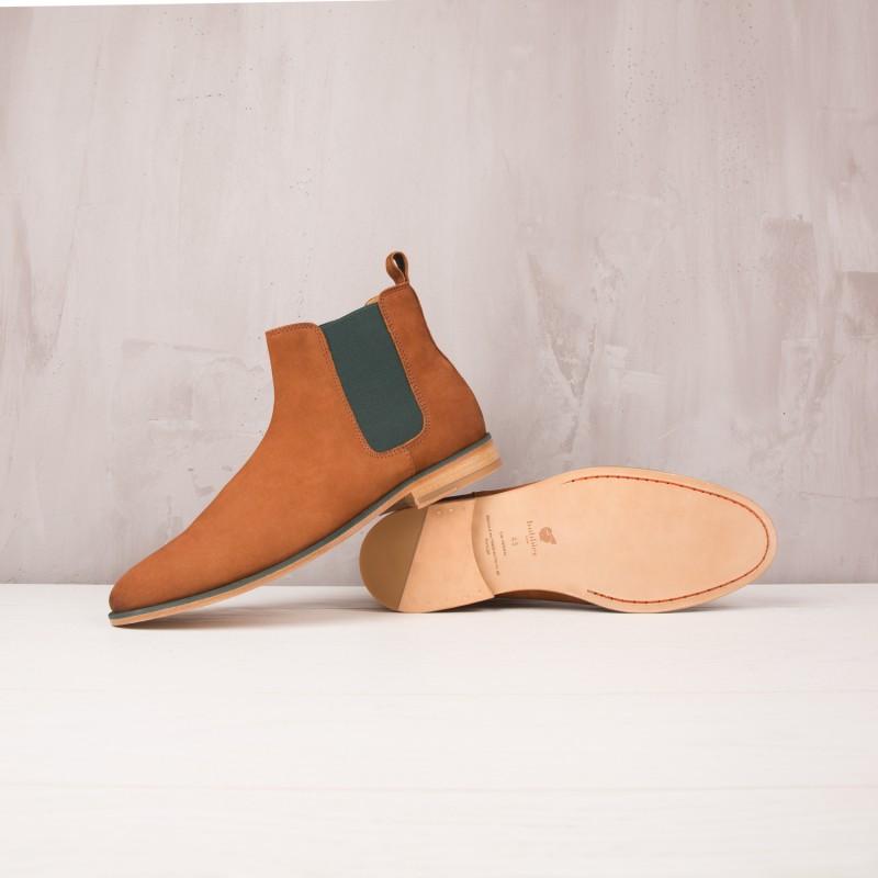 Boots À Élastique : L'Artificier - Noisette