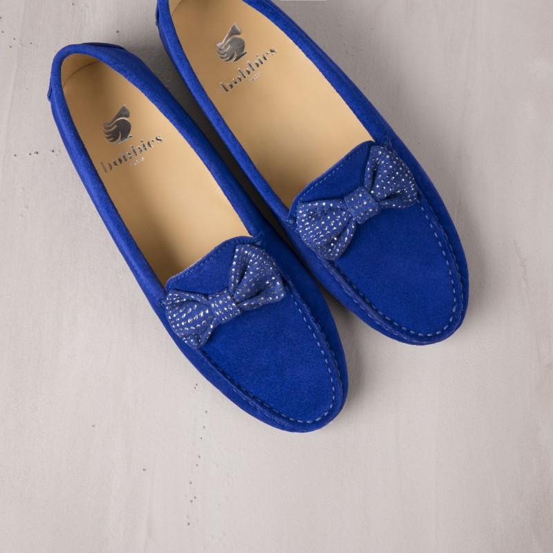 Mocassins : La Starlette - Bleu Saphir