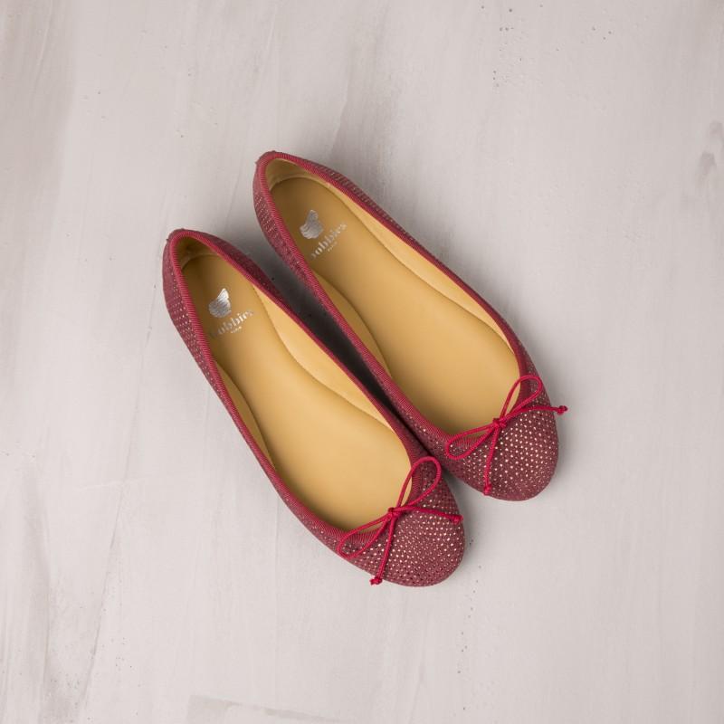 Ballet Flats : La Princesse - Orient Red