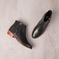 Boots Plates : La Groupie - Noir Ébène