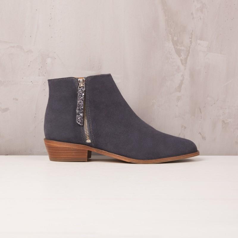 Boots Plates : La Groupie - Gris Anthracite