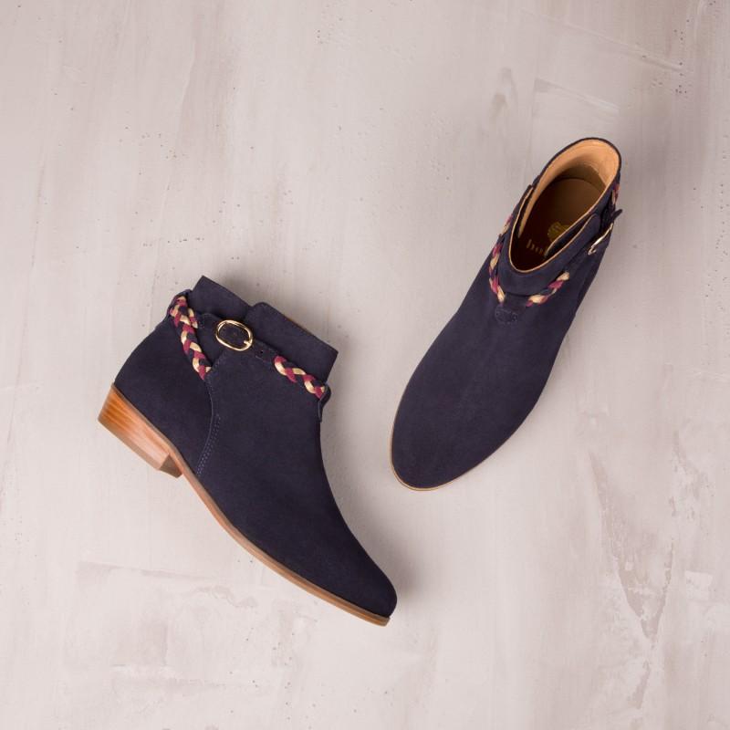Boots Plates : La Mélodieuse - Bleu Marine