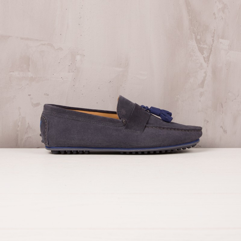 Driving Loafers : Le Gentleman - Charcoal Grey