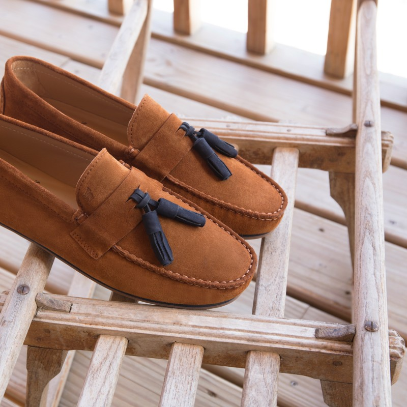 Driving Loafers : Le Gentleman - Gingerbread