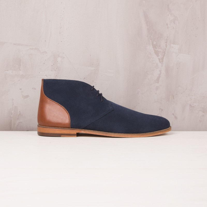 Boots & Bottines : L'Architecte - Bleu Marine