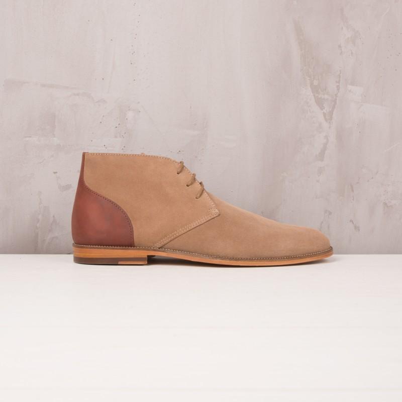 Boots & Bottines : L'Architecte - Antilope