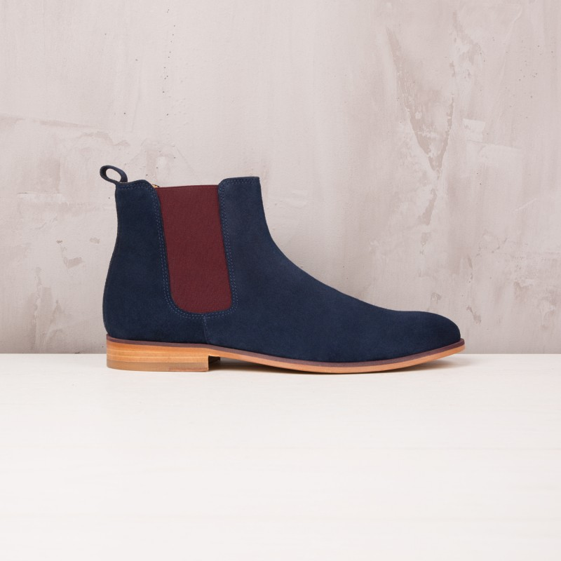 Chelsea Boots : L'Artificier - Navy Blue