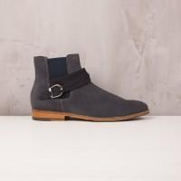 Boots À Élastique : Le Mélomane - Gris Anthracite