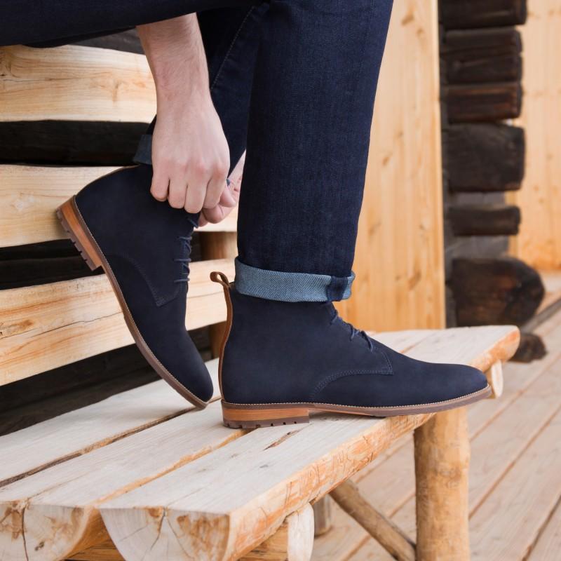 Boots & Bottines : L'Aventurier - Bleu Marine