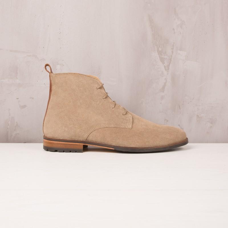 Boots & Bottines : L'Aventurier - Gris Taupe