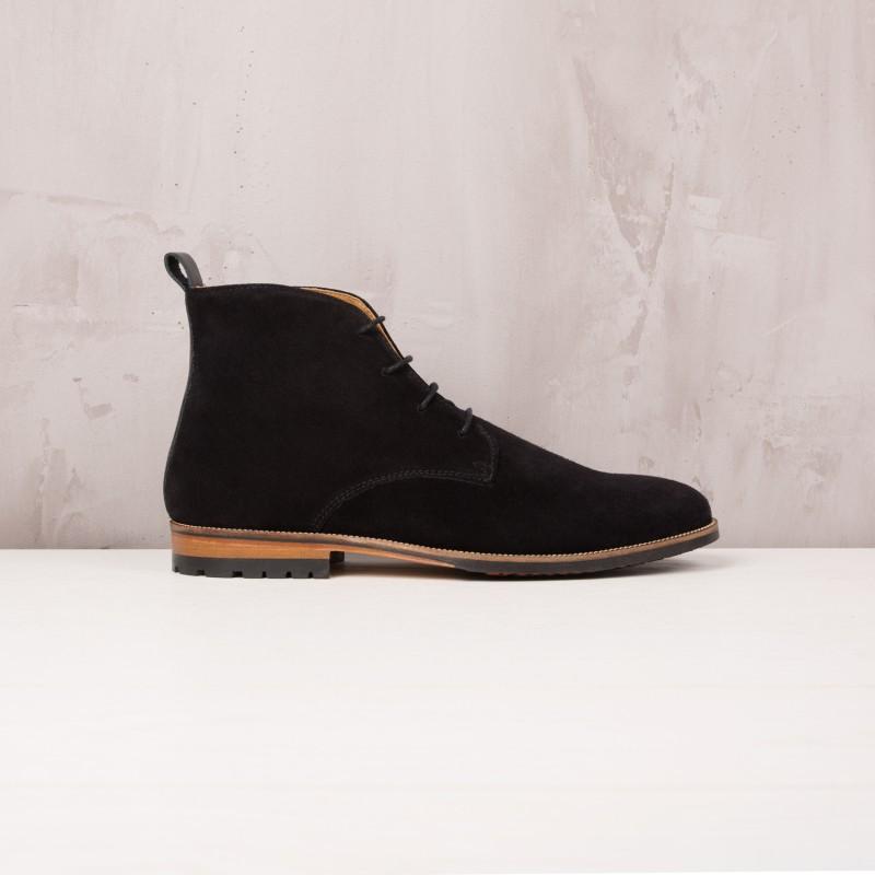 Boots & Bottines : L'Aventurier - Noir