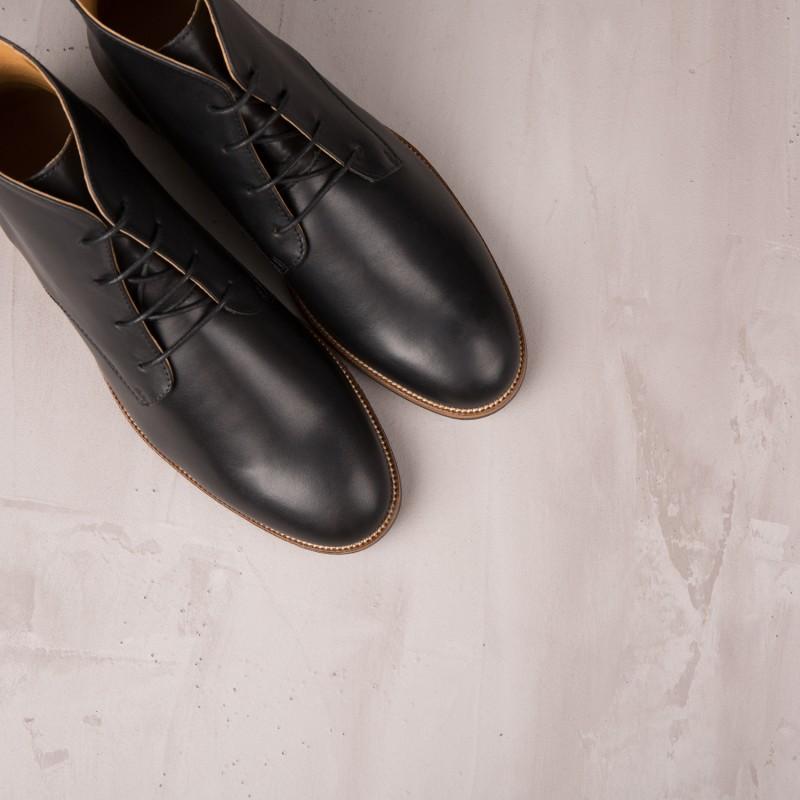 Boots & Bottines : L'Explorateur - Noir Ébène