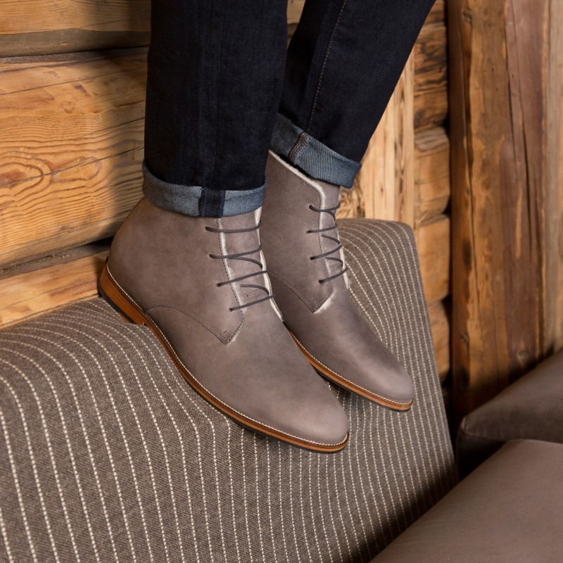 Boots & Bottines : L'Explorateur - Gris Fuji (F)
