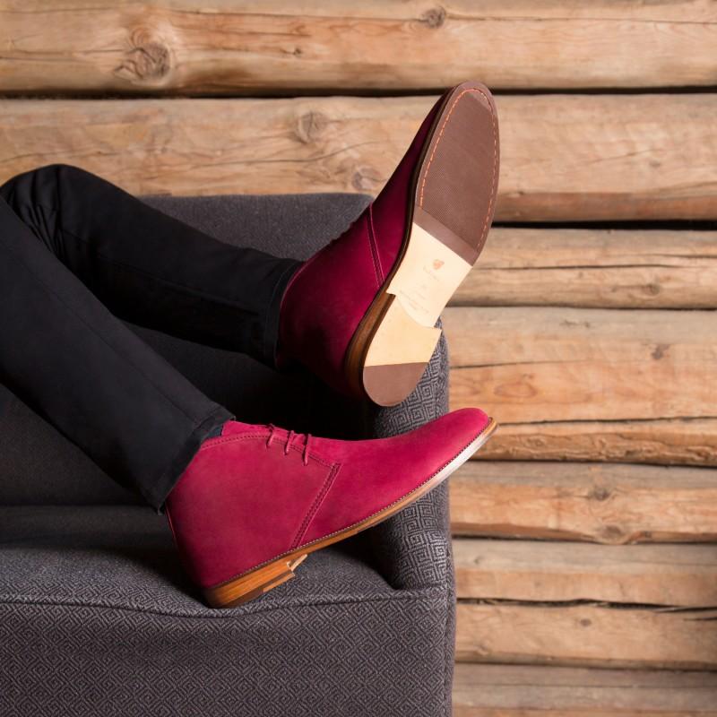 Boots & Bottines : Le Monsieur - Griotte