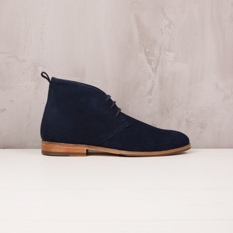Boots & Bottines : Le Monsieur - Bleu Marine