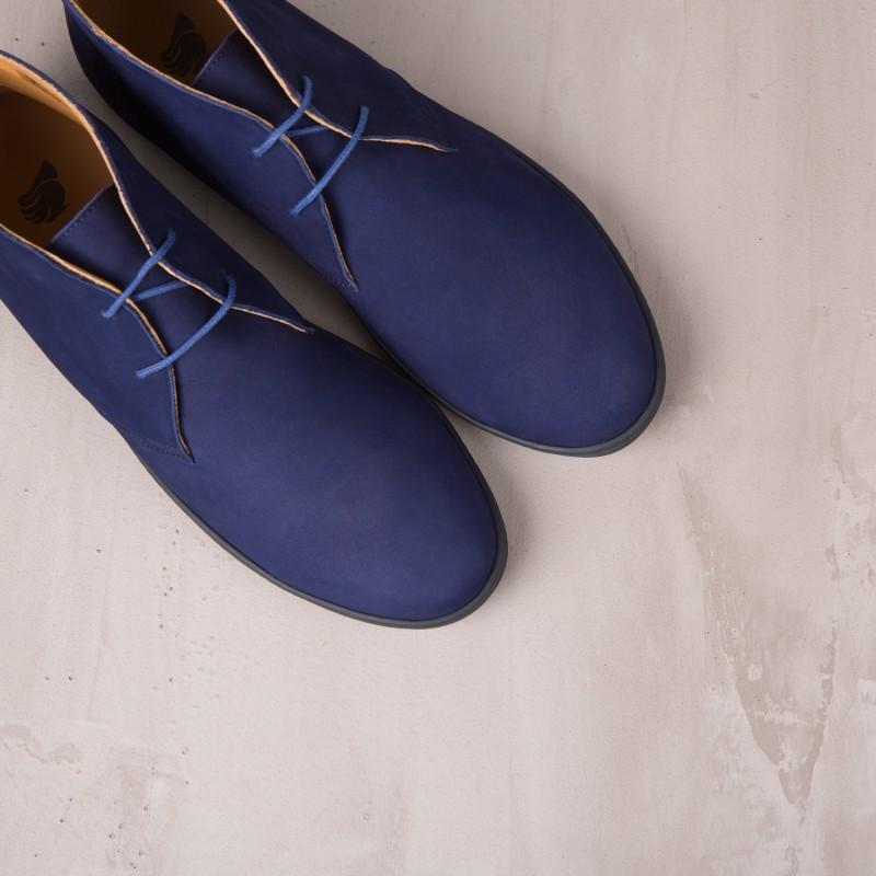 Sneaker Boots : L'Athlète - Bleu Cobalt