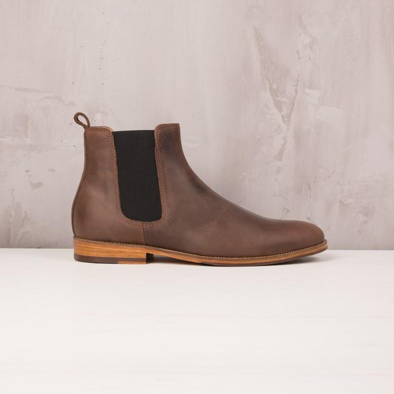Boots À Élastique : L'Horloger - Brun Des Andes