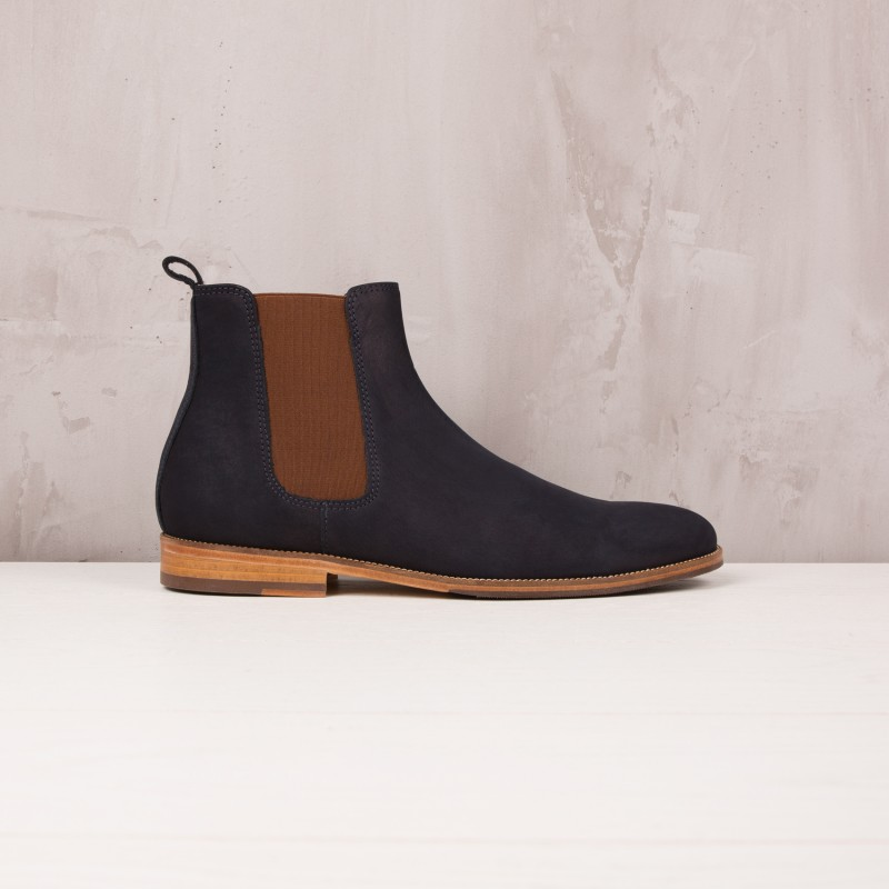 Boots À Élastique : L'Horloger - Bleu Marine