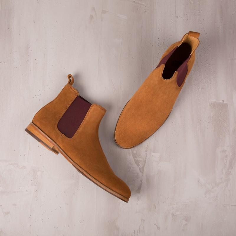 Chelsea Boots : L'Horloger - Gingerbread