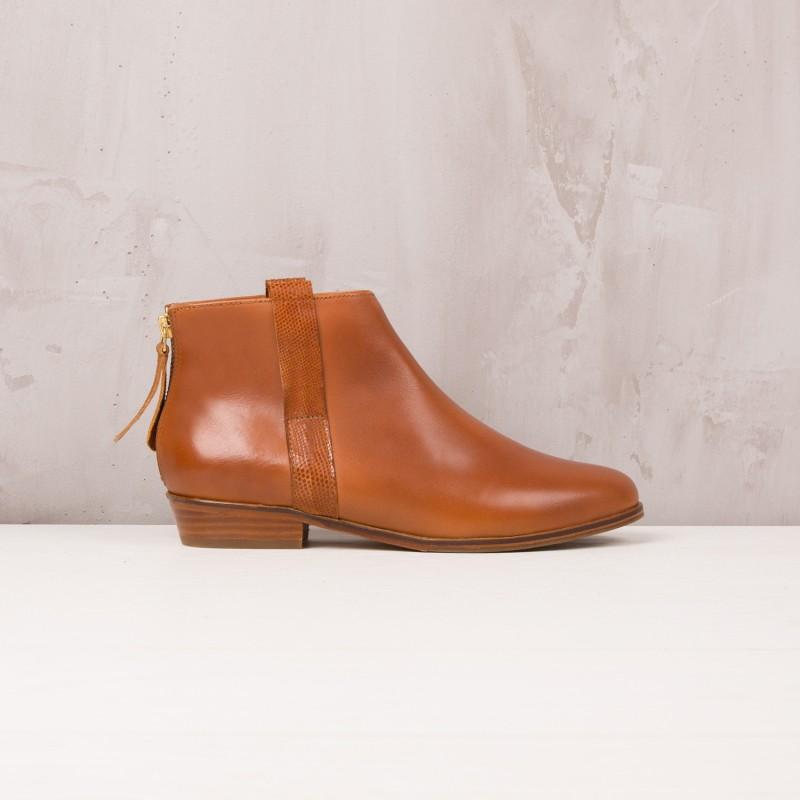 Boots Plates : L'Empressée - Cognac
