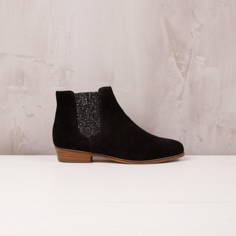 Boots Plates : La Féerique - Noir