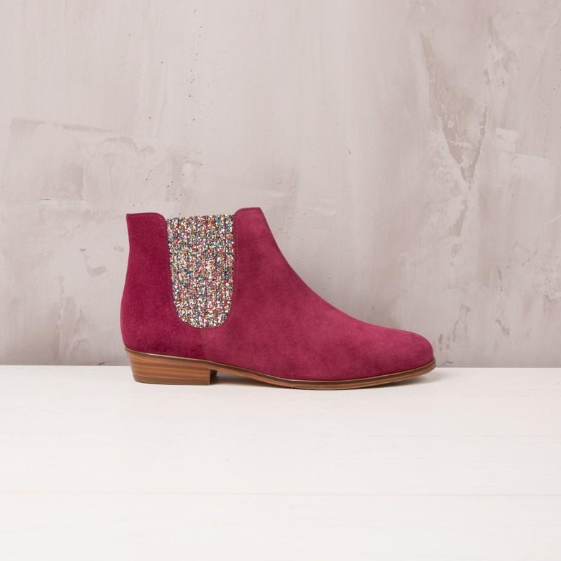 Boots Plates : La Féerique - Pourpre
