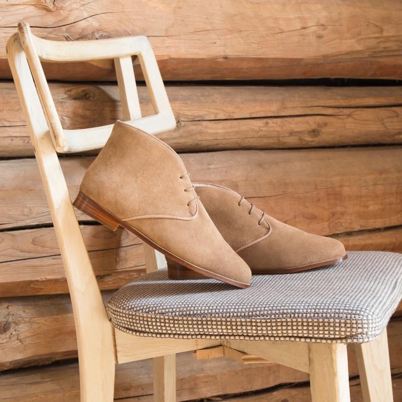 Boots Plates : L'Impatiente - Antilope (F)