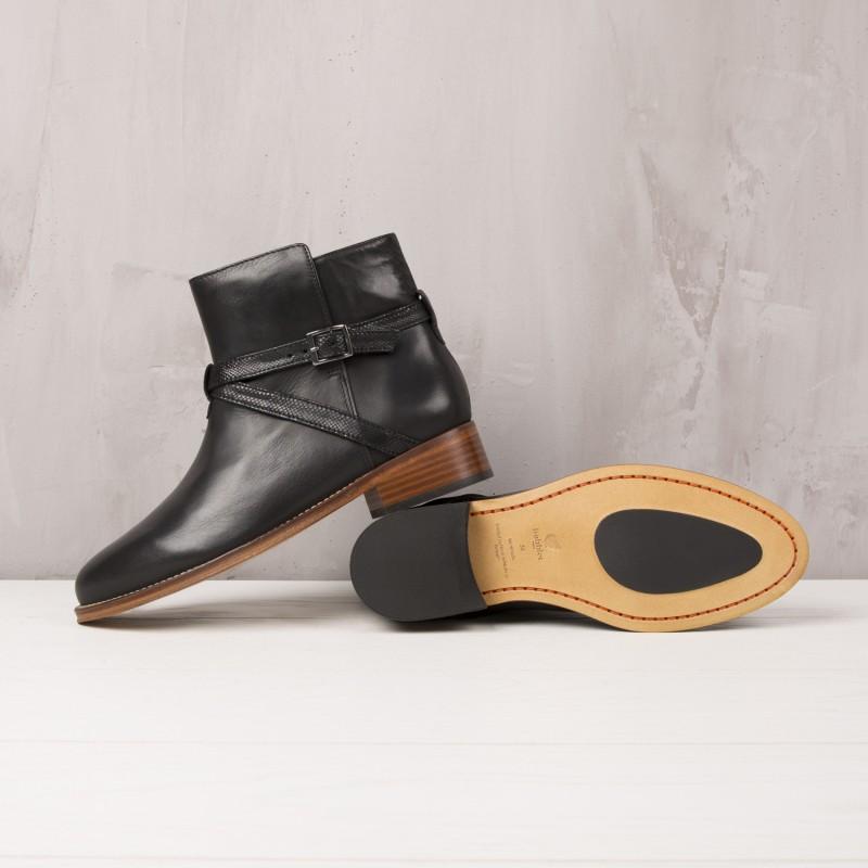 Boots Plates : L'Invincible - Noir Ébène