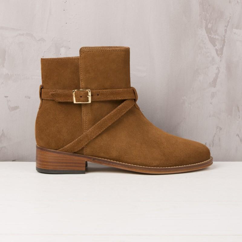 Boots Plates : L'Invincible - Brun Camel