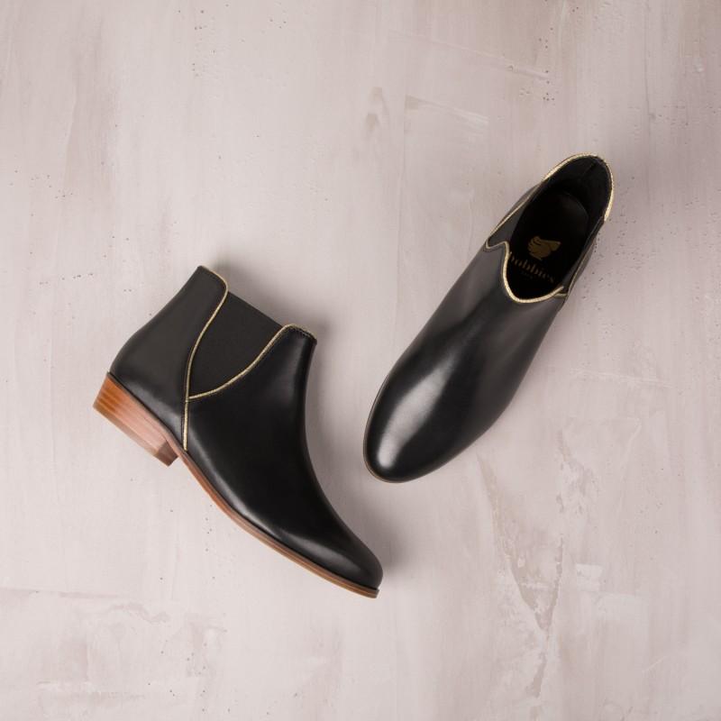 Boots Plates : La Londonienne - Noir Ébène